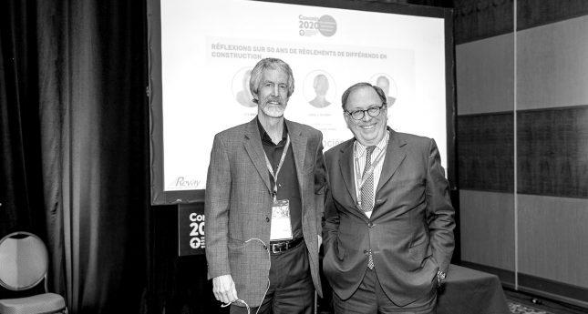 Réflexions sur 50 ans de règlement des différends en construction – 23e congrès de la CEGQ